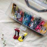 刺繍糸の収納どうする?我が家の使いかけ収納方法の変遷と小分け袋に落ち着いた理由。