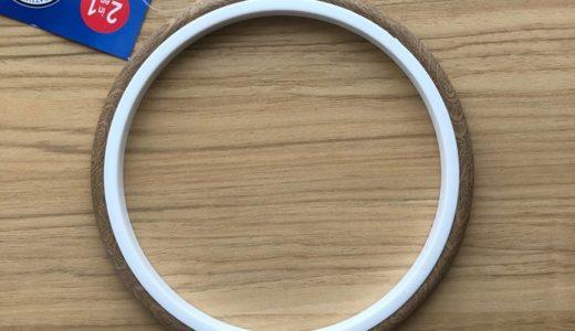 刺繍枠を使った飾り方に適した刺繍枠は?樹脂製木目調刺繍枠がお手軽かつ綺麗でおすすめ!
